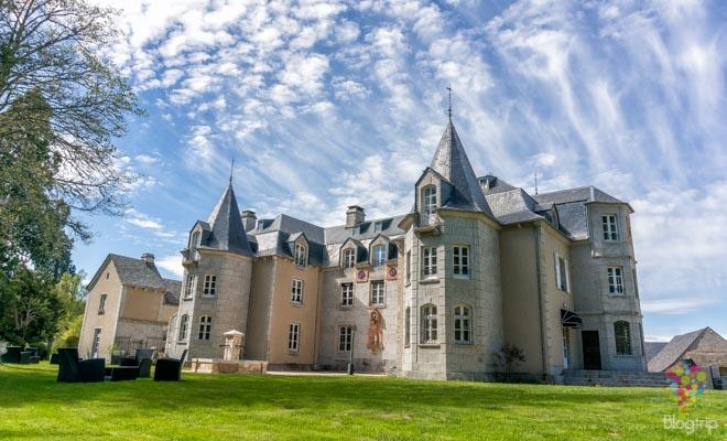 Dormir en un castillo en Francia, hotel castillo de Orfeuillette