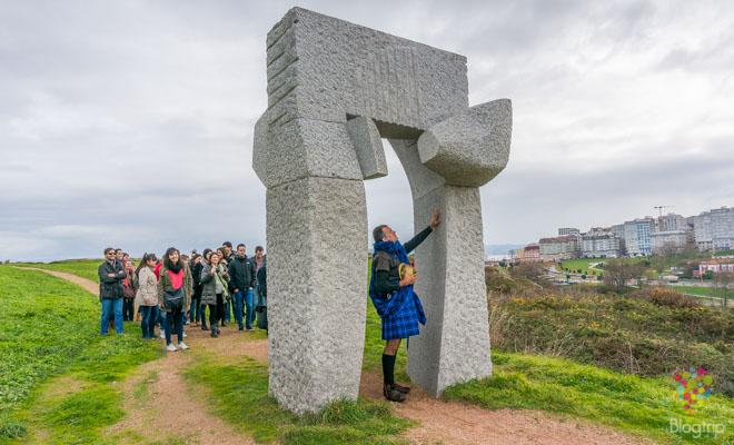 Escultura Ara Solis, Torre de Hércules A Coruña