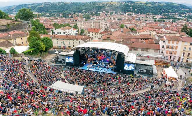 Festival de jazz de Vienne Francia, teatro romano