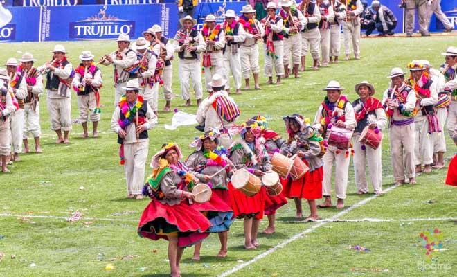 Fiesta de la candelaria concurso de danzas Puno Perú
