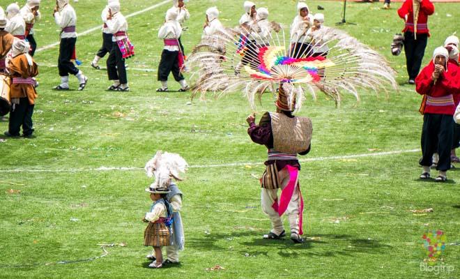 Fiesta virgen de la candelaria en Puno Perú