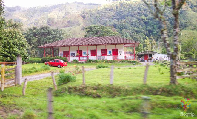 Finca de región cafetera en Salento Colombia