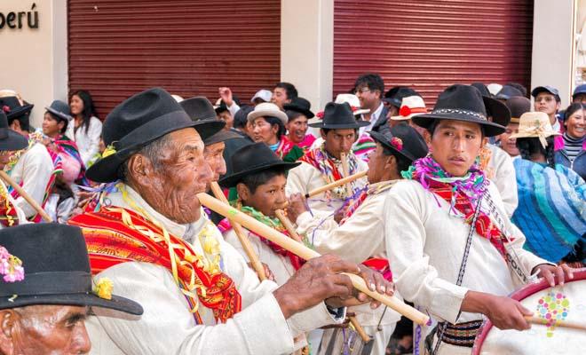 Fotografia de la cultura del sur del Perú