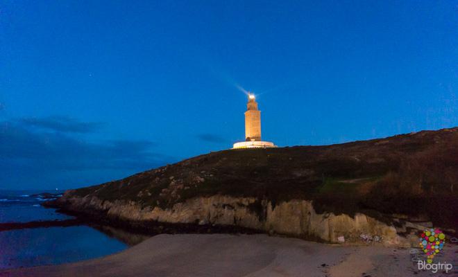 Fotografía de la Torre de Hércules en A Coruña