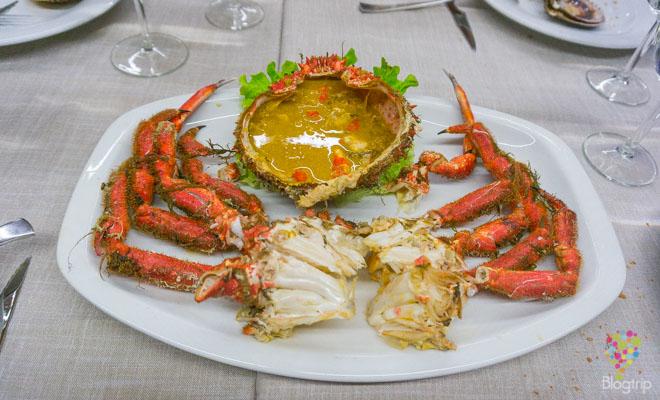 Gastronomía de la Coruña en Galicia España