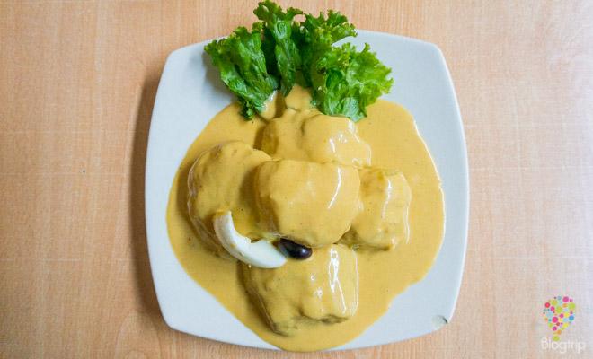 Gastronomía del Perú: papas a la Huancaina