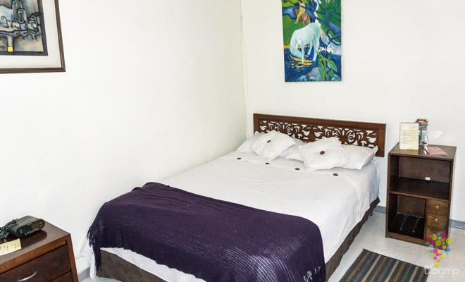 Habitación hotel en la Candelaria, centro de Bogotá