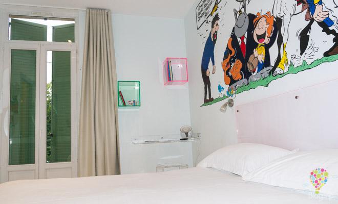 Habitación y hotel temáticos en Cannes Francia