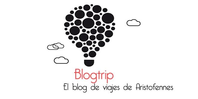 Logo de Blogtrip el blog de viajes de Aristofennes B&N