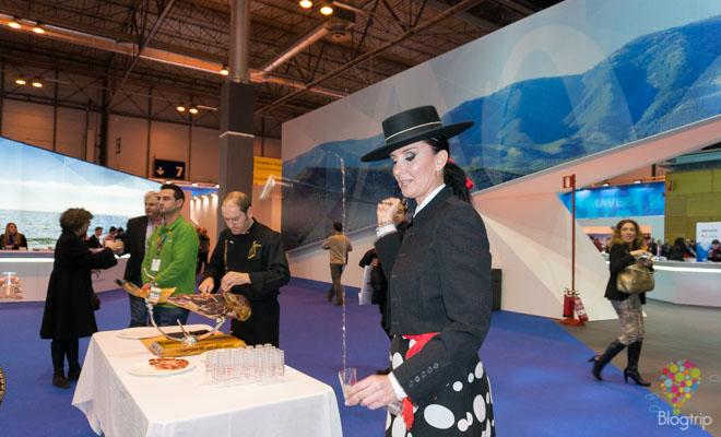 Muestra de cultura y gastronomía de España fitur 2014