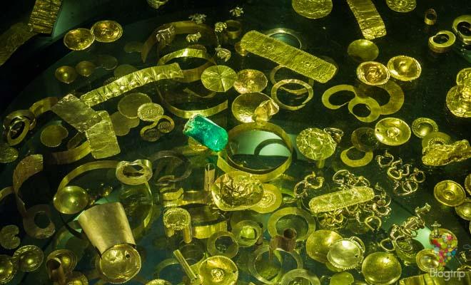Colección del museo del oro del banco de la república Bogotá