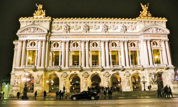 Ópera Garnier de París Francia