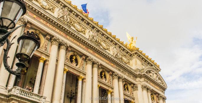Ópera nacional de París en Francia