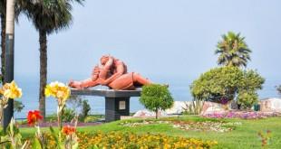 Barrio Miraflores en Lima, en busca del parque del amor