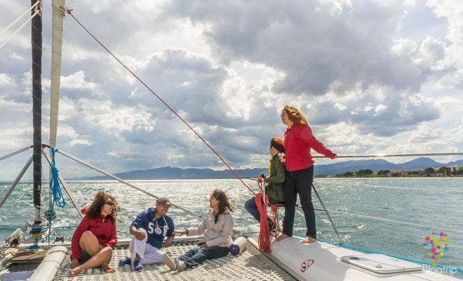 Paseo en catamarán por la Costa Dorada España