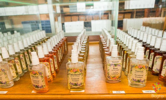 Perfumería francesa, visita de Grasse