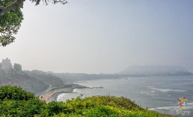 Playas del barrio Miraflores en Lima Perú