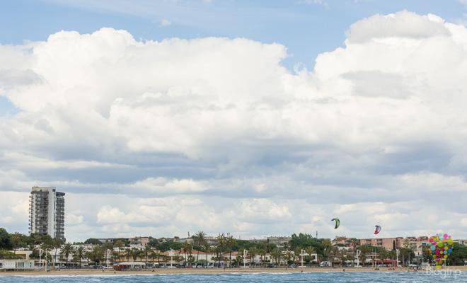 Playas y litoral de Cambrils en la Costa Dorada