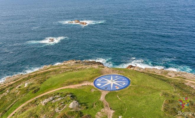 Rosa de los vientos Parque escultórico A Coruña