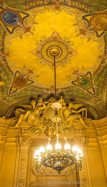 Sala del sol Ópera Garnier en París