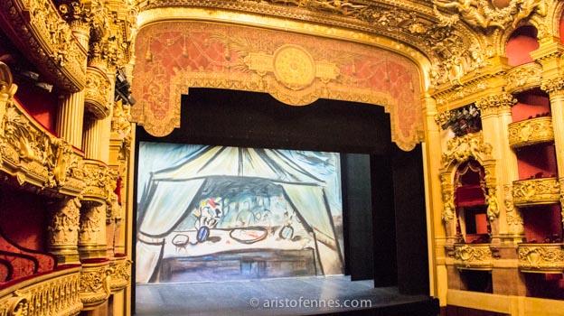 Sala de espectáculos de la ópera Garnier