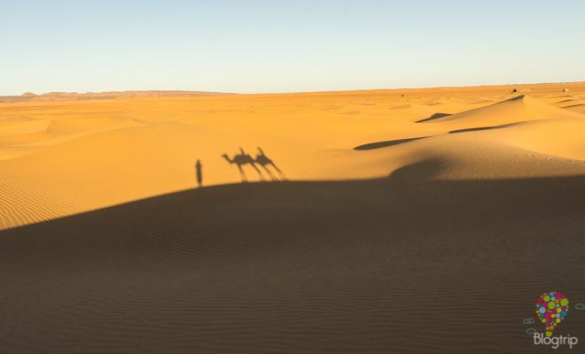 Tour en camello, viajar al desierto del Sahara Marruecos