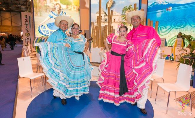 Trajes típicos de la cultura de Honduras fitur 2014