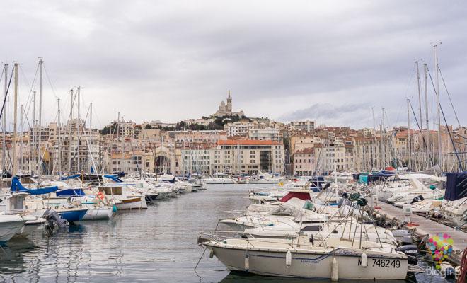 Turismo marítimo en el puerto de Marsella Francia