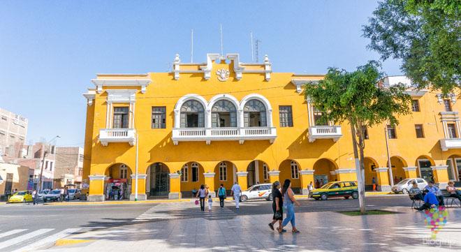Viajar a Ica ciudad del Perú