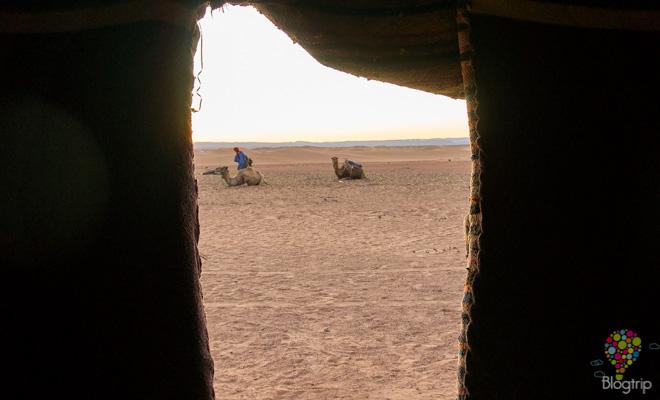 Viajar a dormir en el desierto del Sahara Marruecos