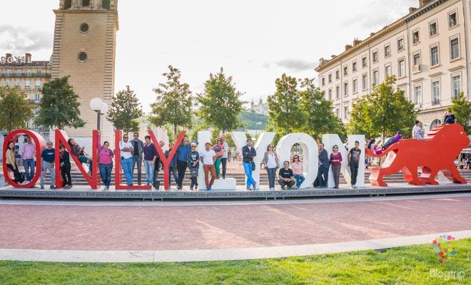 Viajar para hacer amigos, Lyon Francia