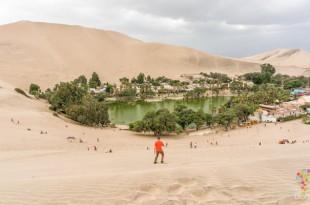 Viaje al oasis y laguna de Huacachina en Perú