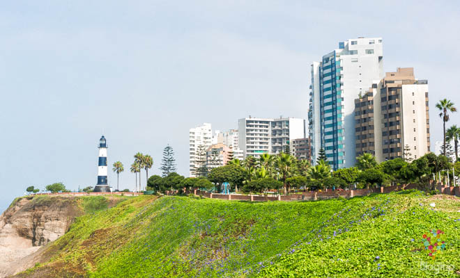 Visita barrio Miraflores Lima Perú