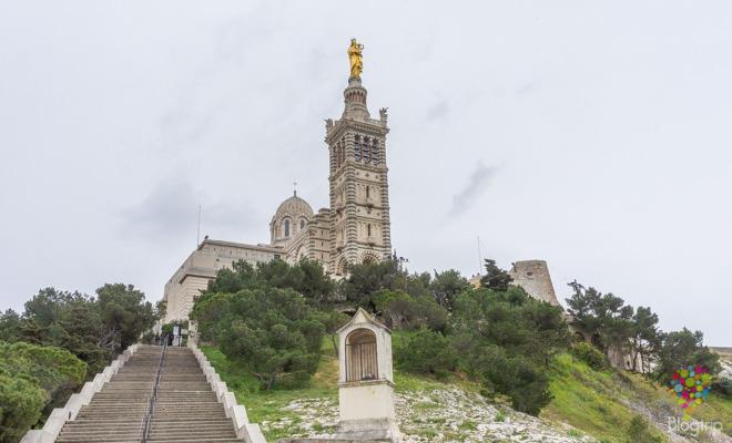 Visita de la basílica Notre Dame de Garde Marsella