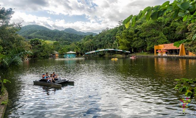 Visita al lago del bioparque los Ocarros Villavicencio