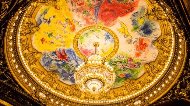 Visita de la ópera de París