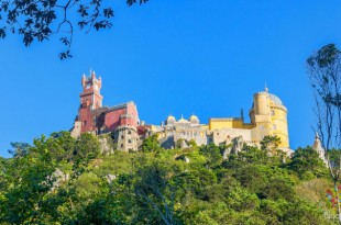 Visita del palacio da Pena en Sintra Portugal