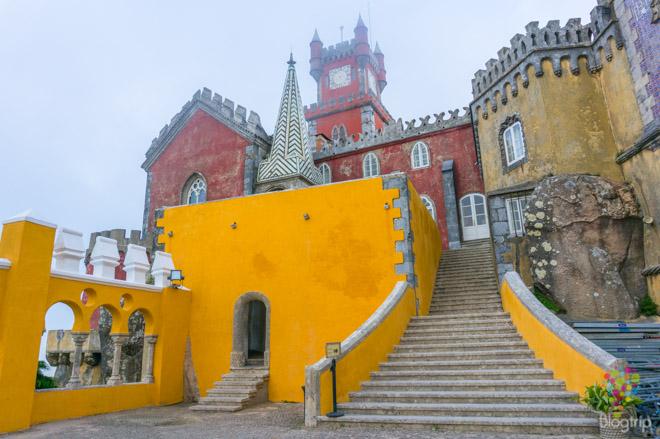 Visita turística al parque y palacio da Pena