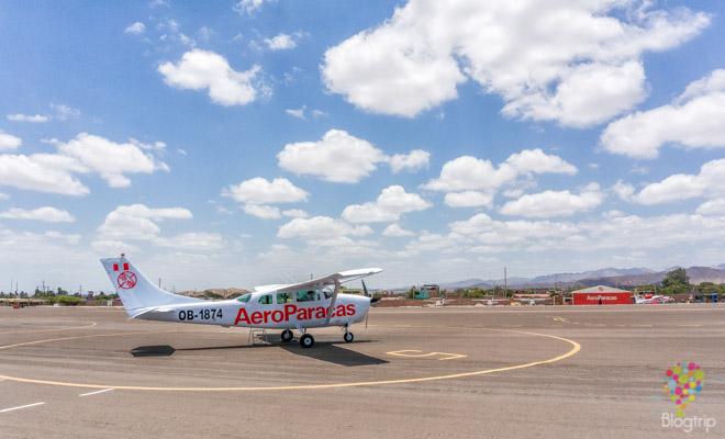 Vuelo en avión sobre las líneas de Nazca Perú