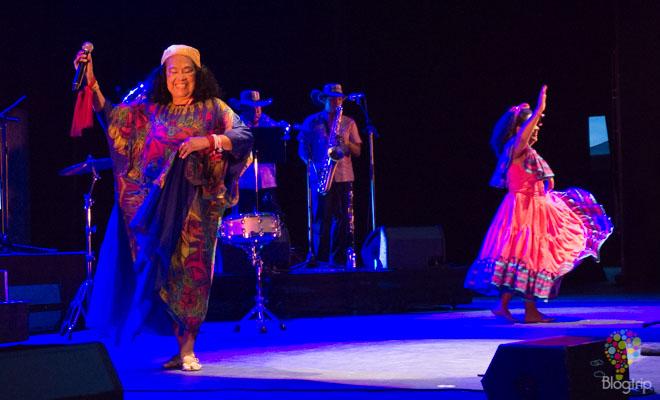 Totó la Momposina música colombiana en vivo