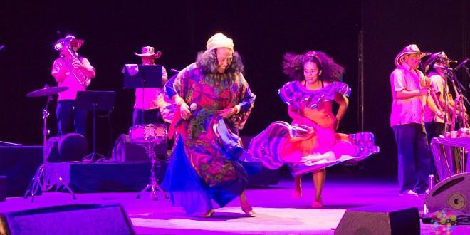 Cantadora colombiana Totó la Momposina