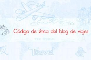 Código de ética del blog de viajes