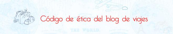 Código de ética de Blogtrip blog de viajes de Aristofennes