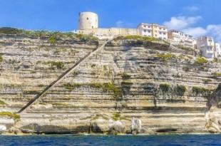 Escalera del rey de Aragón - Bonifacio en Córcega