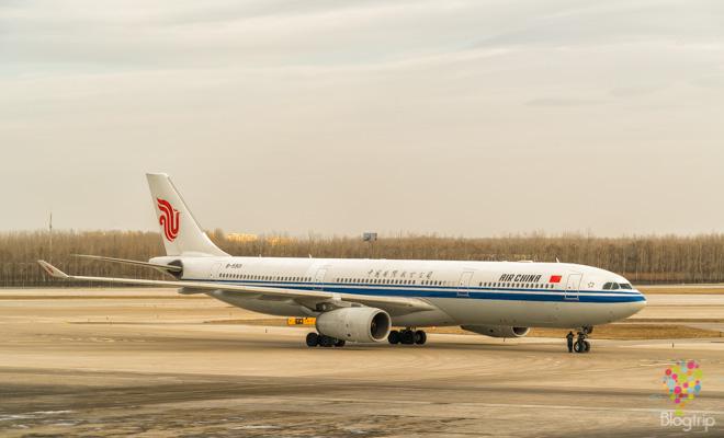Experiencia con mi vuelo con Air China, aeropuerto de Pekín