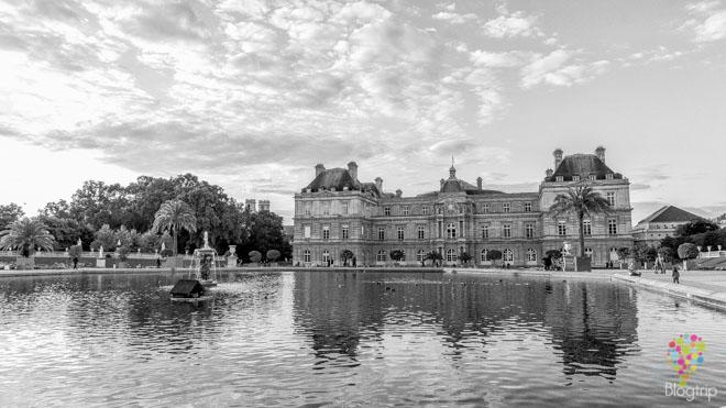 Jardín de Luxemburgo a visitar en París
