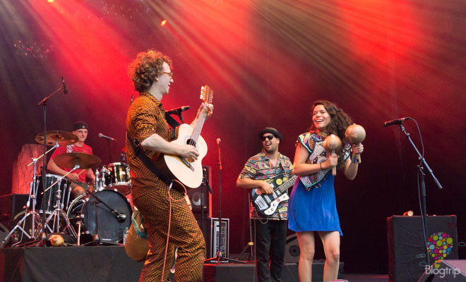 La Chiva Gantiva, concierto en vivo