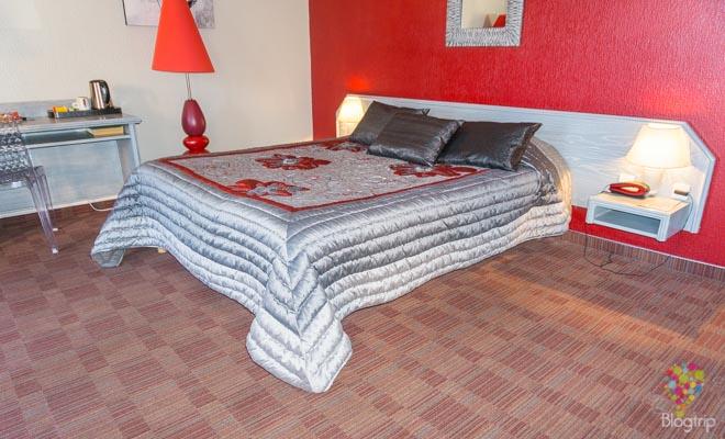 Mi habitación en el Spunta di Mare hotel en Ajaccio