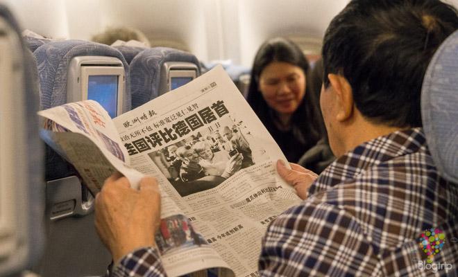 Pasajeros en el vuelo París - Pekín - Yangon
