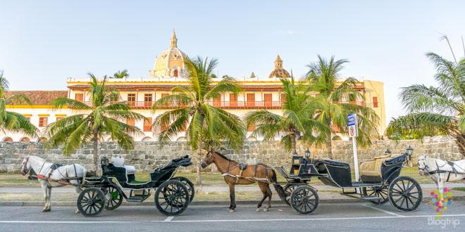 Paseo en coche o carroza por Cartagena